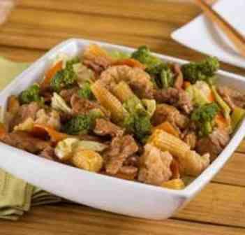 Filé China House - Executivo (serve bem 1 pessoa, acompanha arroz)