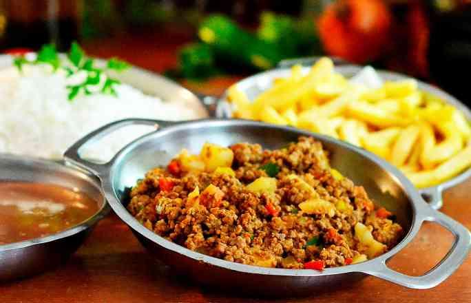 Prato 1 - Carne Moída