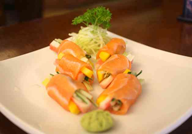 Sushi Light (Sem Arroz) 8 unidades