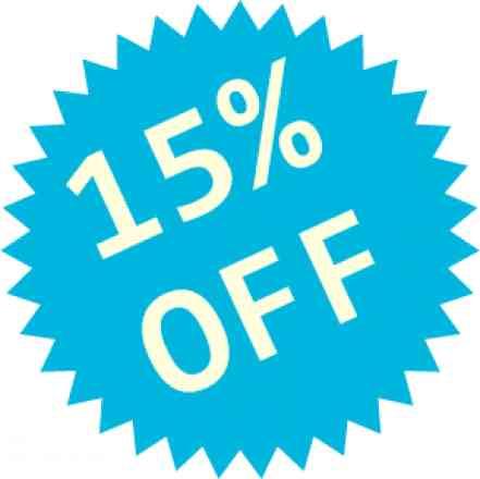 Complete seu pedido e ganhe desconto de 15% em todos os produtos comprados, o desconto irá aparecer ao finalizar o pedido.