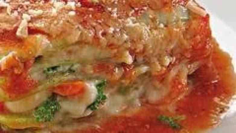 Lasanha Vegetariana com Massa Verde - 600g