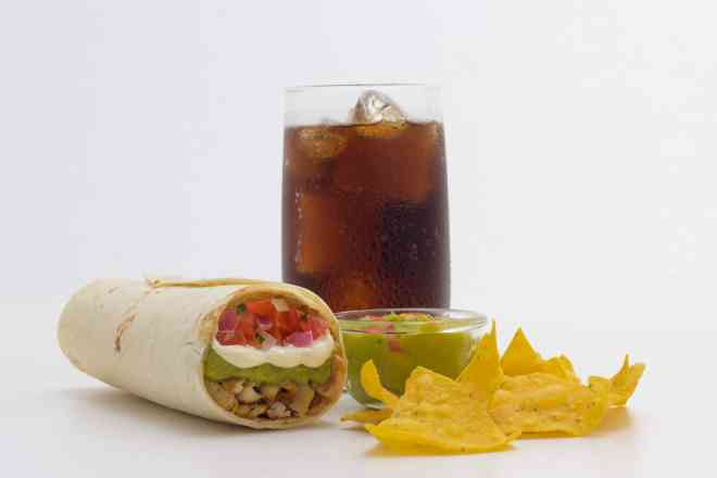 Combo 5 (Burrito Chilli Beans)