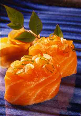 Sushi em Dupla - Gunka de Salmão