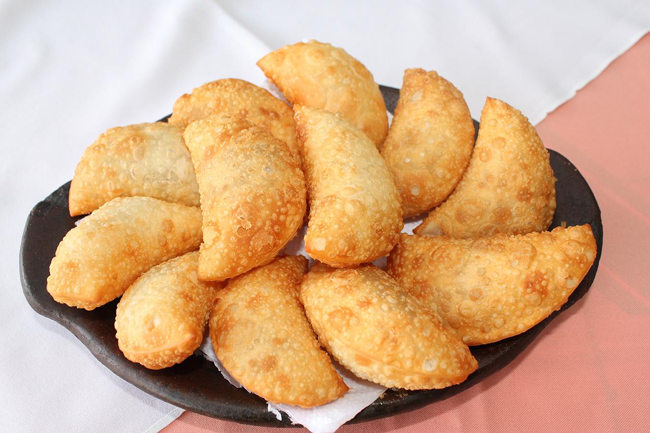 Porção de Pastelzinho de Queijo