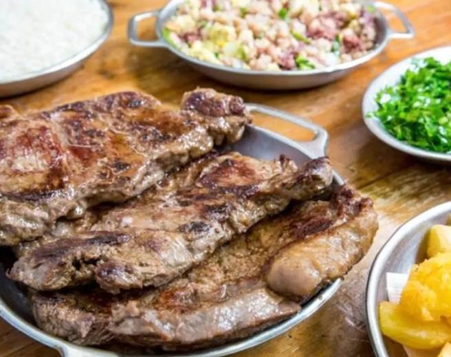 Contra Filé à Mineira ( aprox 700 g de carne)